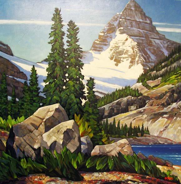 "Graeme Shaw ""Mount Assiniboine"""