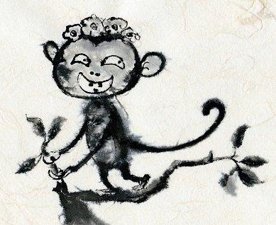 """Yong Fei Guan """"Little Monkey in a Tree"""""""