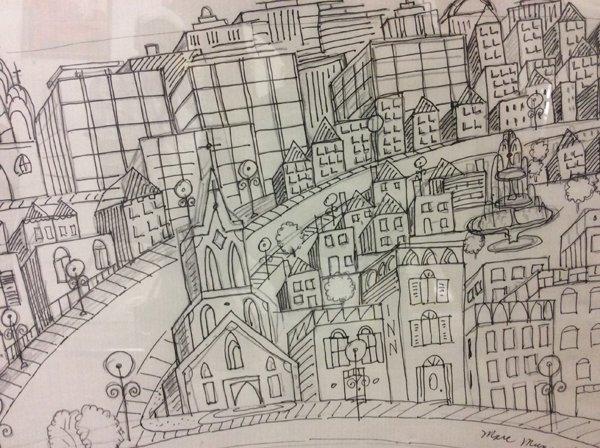 """Marc Munan """"Church Street"""""""