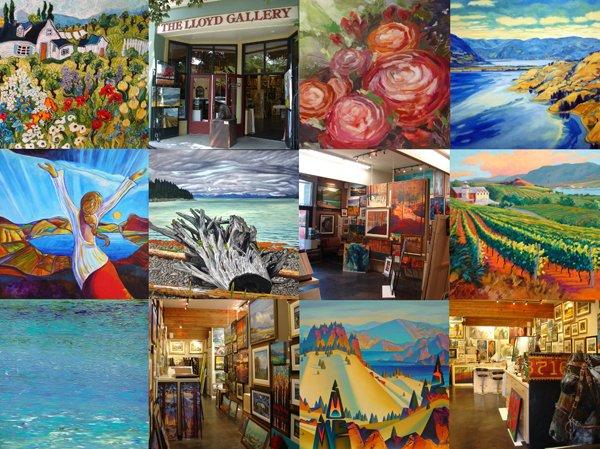 Lloyd Gallery Masterpieces Show