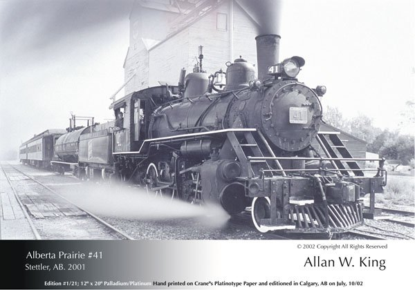 "Allan King, ""Alberta Prairie #41 Stettler, AB"""