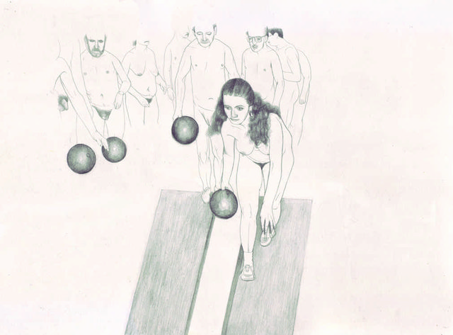 """Erica Eyres, """"Bowling"""", 2015,"""
