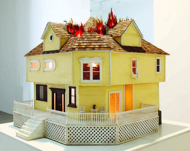 """Sarah Anne Johnson, """"House on Fire"""", 2009"""
