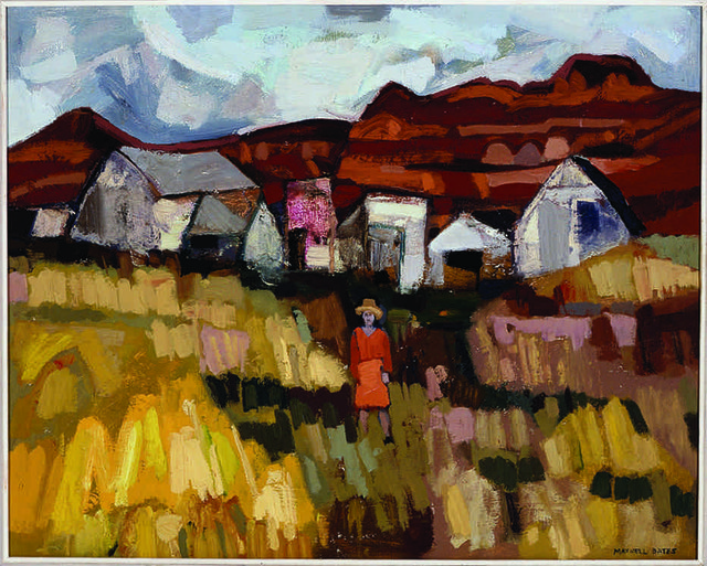 """Maxwell Bates, """"Eroded Land,"""" date unknown"""