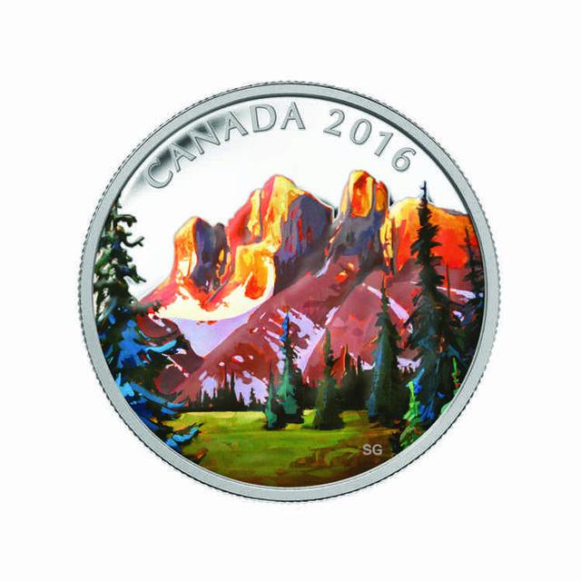 Coin Rockies Render