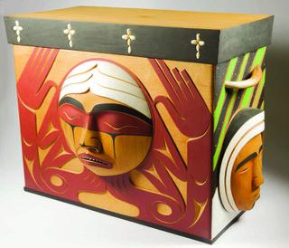 """Luke Marston's """"Bentwood Box"""""""