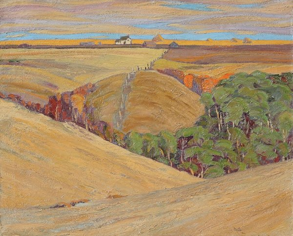 "Illingworth Holey (Buck) Kerr, ""Across the Coulee"", circa 1947"