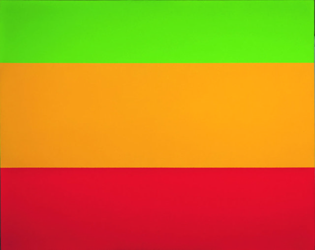 "Yves Gaucher, "" Green, Yellow, Red, 1ere version"", 1976"
