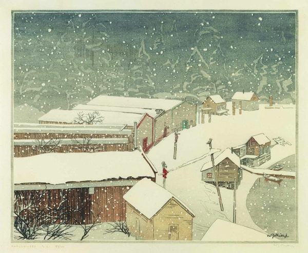 "Walter Joseph (W.J.) Phillips, ""Karlukwees, BC"", 1929"