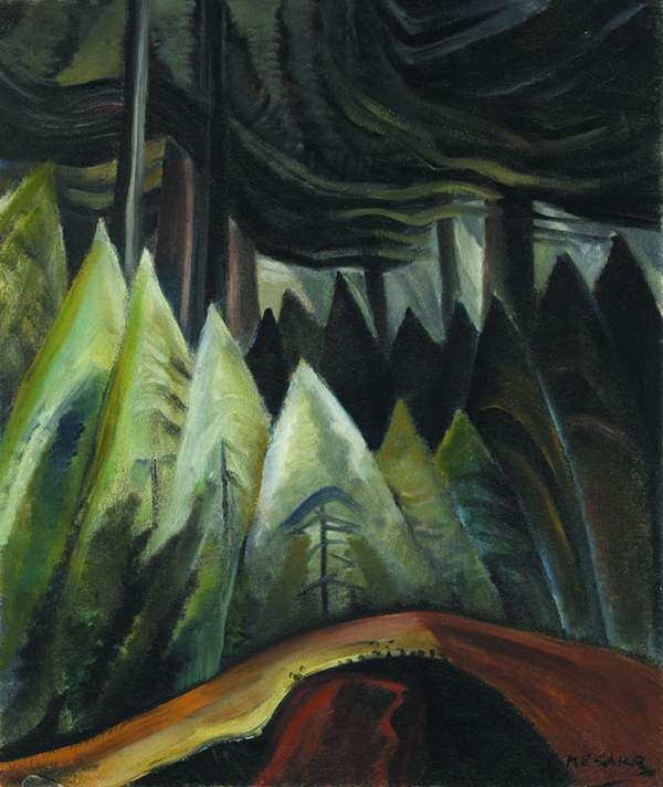 "Emily Carr, ""Forest Light"", circa 1931 - 1936"