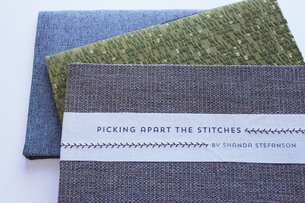 "Shanda Stefanson's ""Picking Apart the Stitches"""