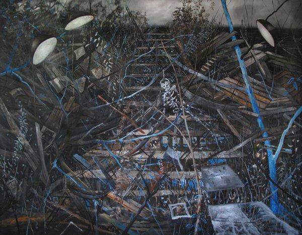 Jeroen Witvliet, Dancing Skeleton (Wayfarer series), 2015