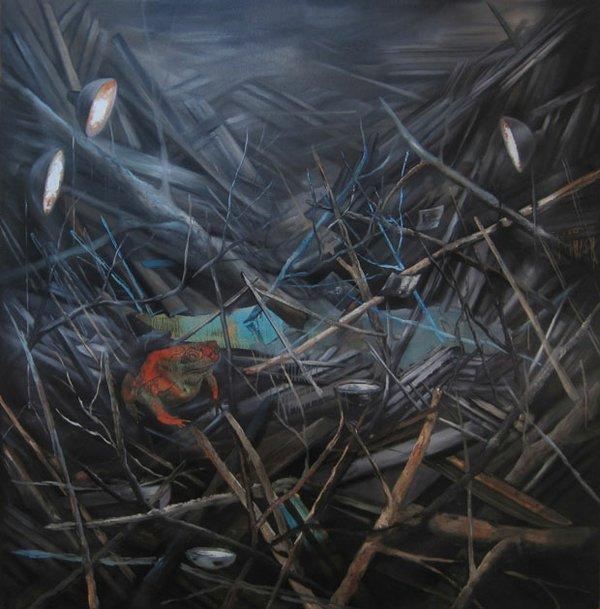 Jeroen Witvliet, Toad (Wayfarer series), 2015