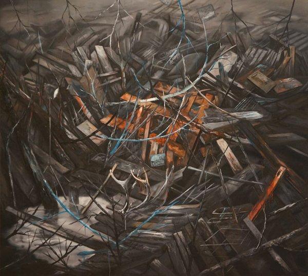 Jeroen Witvliet, Antlers (Wayfarer series), 2014