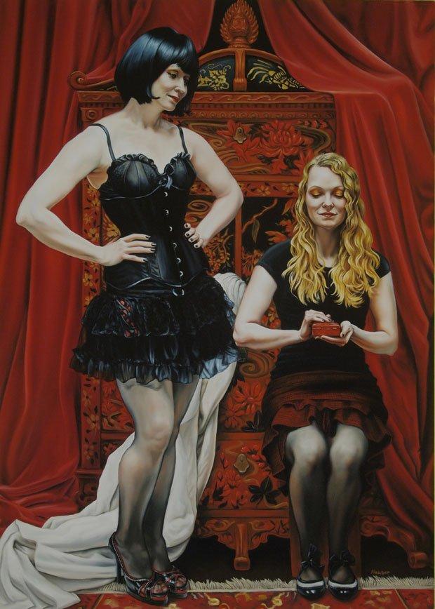 "Iris Hauser, ""The Cabinet of Secrets"", 2013"