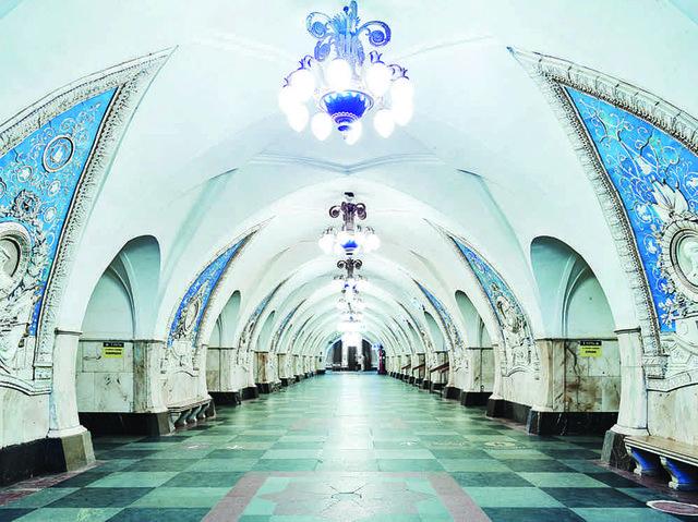 """David Burdeny,"""" Moscow Metro III,"""" 2015"""