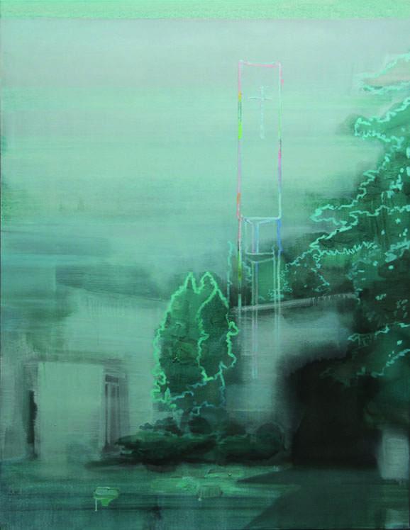 "Paul Bernhardt, ""Apparition,"" 2015"