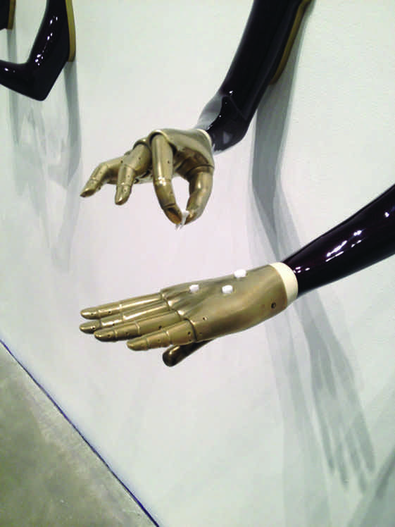 "Aleksandra Domanović, ""The Belgrade Hand Series,"" 2013-2015"