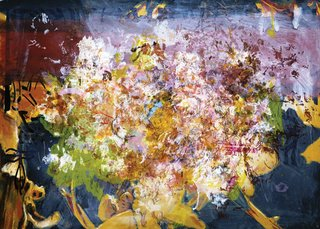 "Jeffrey Spalding, ""Ghosts and Angels (Riopelle Relic)"", 2012"