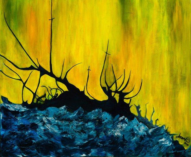 "Jordan Miller ""Shipwrecked"" (2015)."