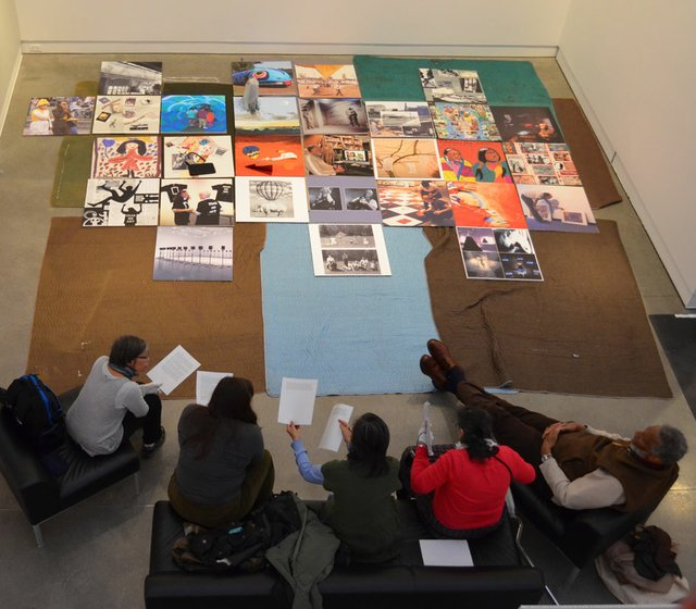 Surrey Art Gallery's 5 artists-in-residence discuss their findings at the Archive Artists Panel