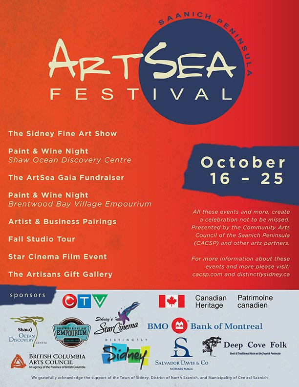 ArtSea Festival Poster