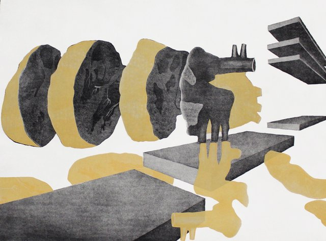 """Marnie Blair,""""axial Auscultation,"""" 2015"""