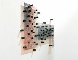 "Walter Jule, ""Touching Indra`s Net: for Morris Graves"" (detail), 2010"