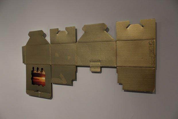 José Luis Torres, Landscape, 2015, installation view (detail)