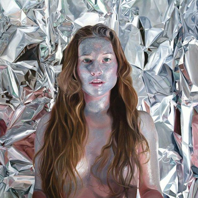 """Jen Mann """"Self portrait as a Reflection"""""""