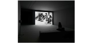 """Geoffrey Farmer, installation view of """"Look in my face; my name is Might-have-been; I am also called No-more, Too-late, Farewell"""", 2010–"""
