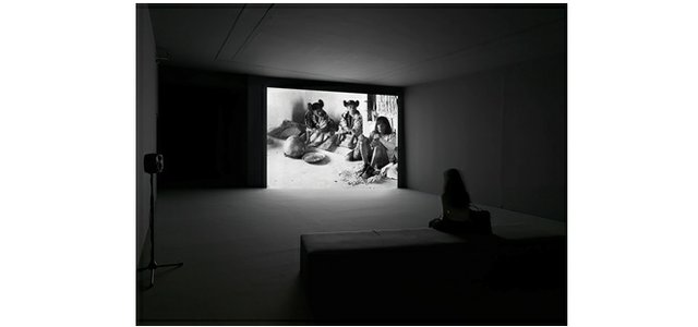 "Geoffrey Farmer, installation view of ""Look in my face; my name is Might-have-been; I am also called No-more, Too-late, Farewell"", 2010–"