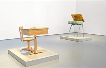 "Sonny Assu, ""Leila's Desk"", 2014"