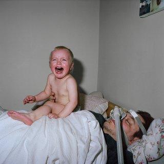 """Karen Asher, """"Crying Baby"""", 2014, C-print, 24"""" x 24"""""""
