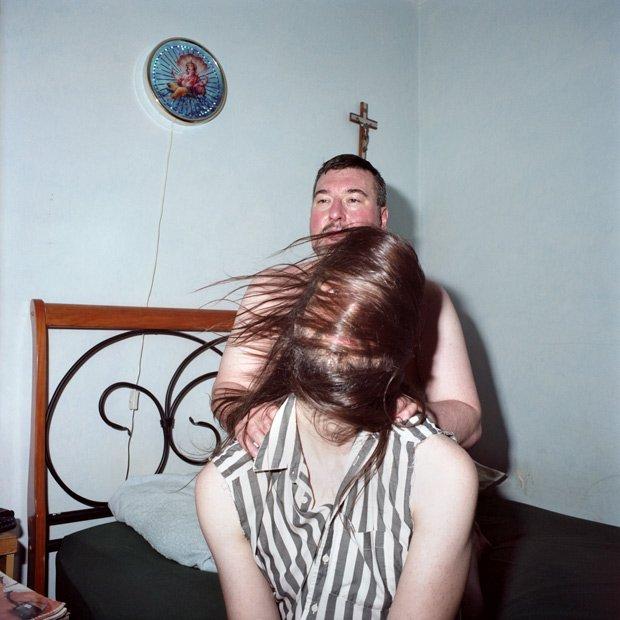 """Karen Asher, """"Wolfman"""", 2014, C-print, 24"""" x 24"""""""