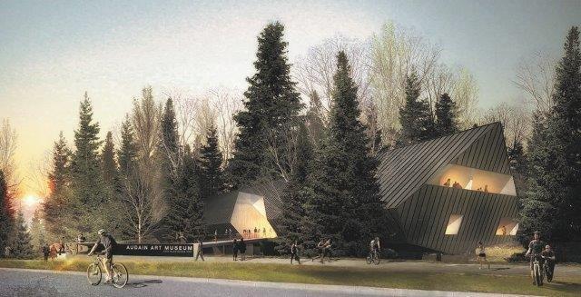 Artist rendering of the Audain Art Museum