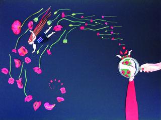 "Maria Flawia Litwin, ""Anima"", 2014, cut paper, 40"" x 32"