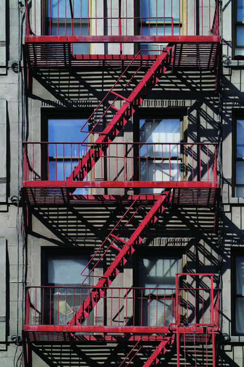 "John Dean, ""NYC Westside 4"", 2015, photograph/archival inks on paper, 22.5"" x 34"""