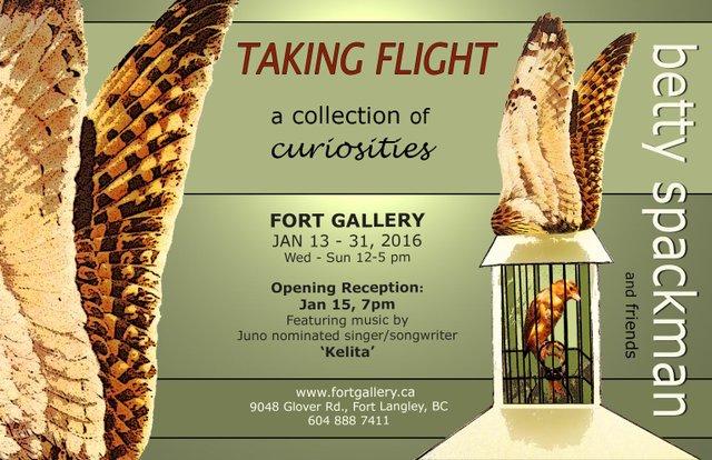 Taking Flight Invite