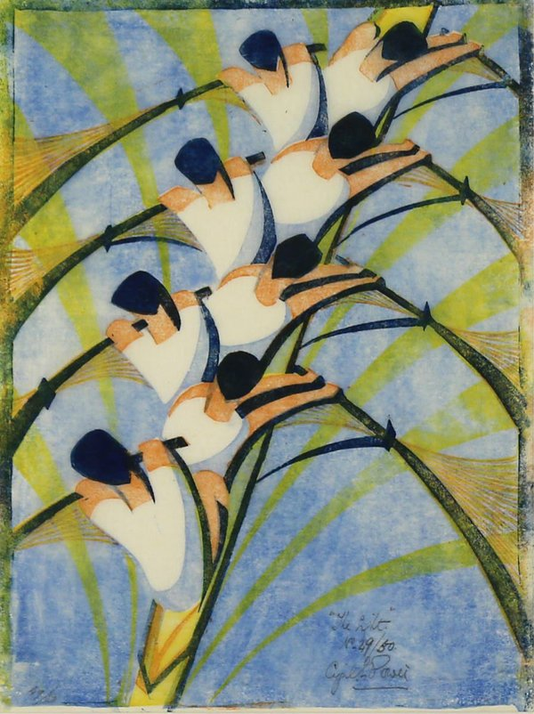 "Cyril Edward Power ""THE EIGHT"" 1930"
