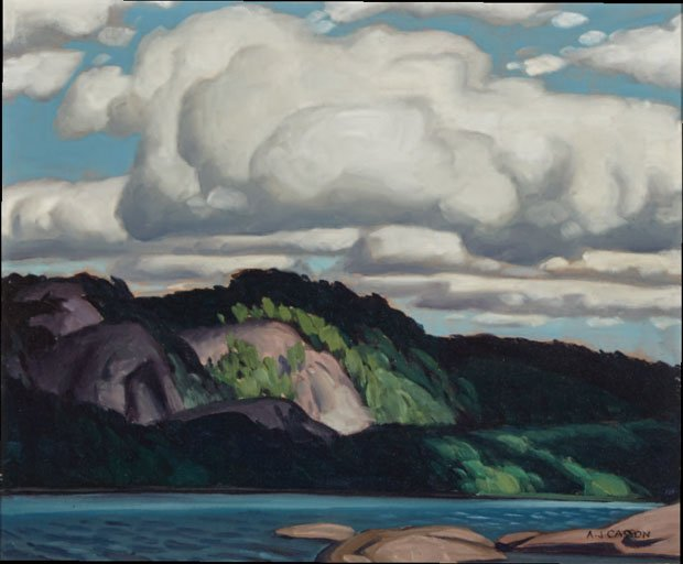 "ALFRED JOSEPH CASSON ""LAKE OF TWO RIVERS, ALGONQUIN PARK, ONTARIO"""