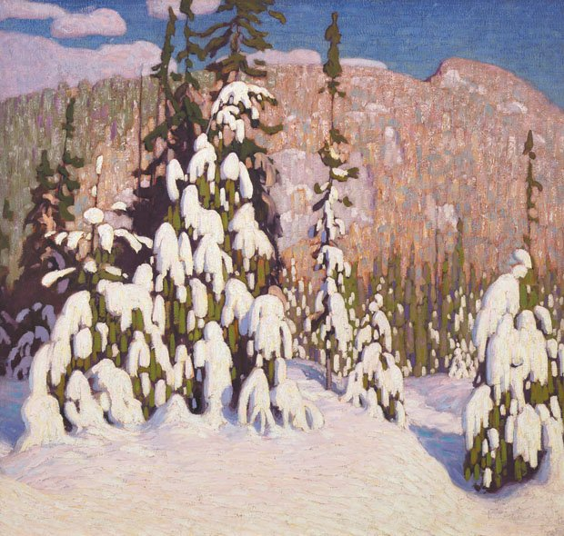 "Lawren Stewart Harris ""Winter Landscape"" circa 1916/17"