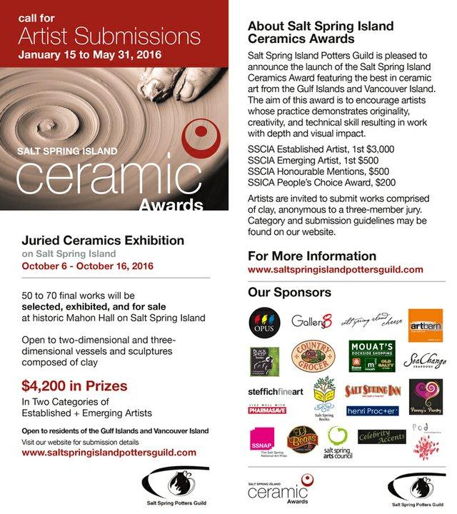 Ceramics Award Social Media Flyer