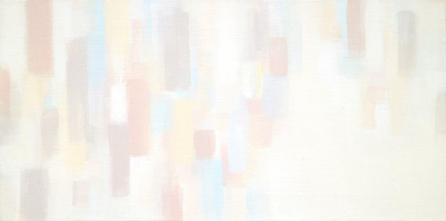 "Suh Seung-Won, ""Simultaneity 13-113"", 2013,Acrylic on Canvas, 15-3/4"" x 31-1/2"""