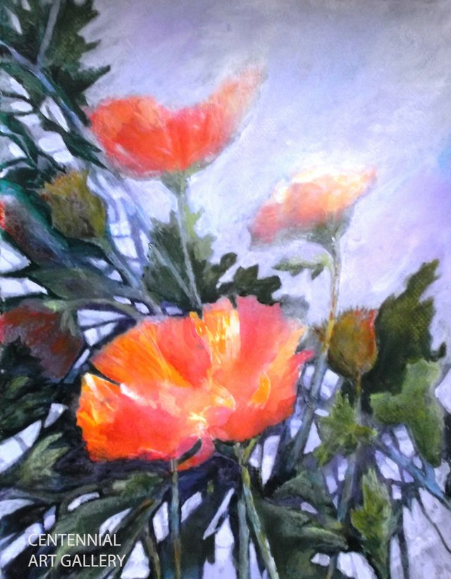 "Linda McClelland,""Passion for Poppies"""
