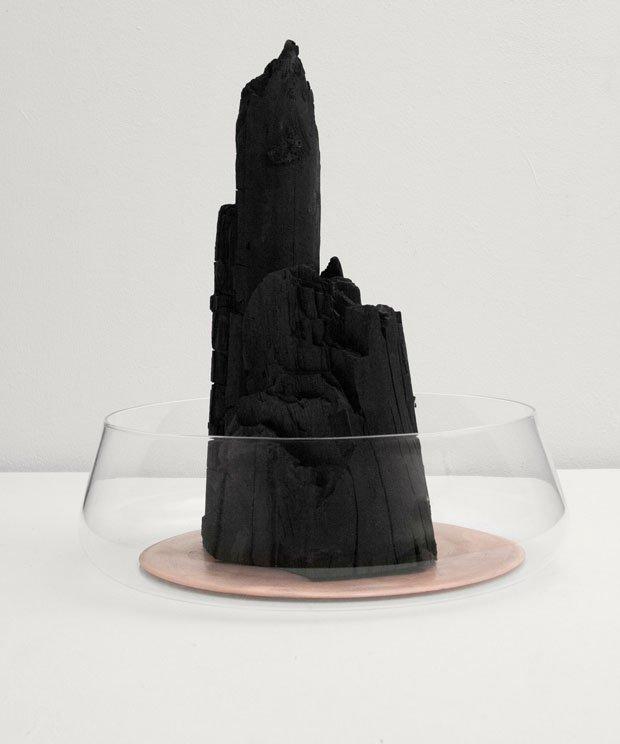 """Formafantasma, """"Charcoal design objects,"""" 2012, detail Courtesy Studio Formafantasma"""