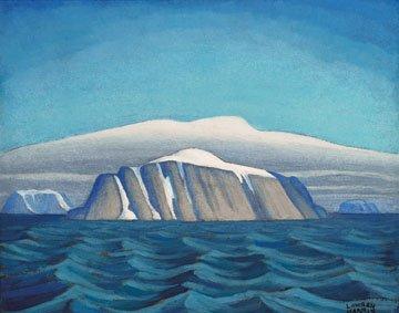 """""""Island Off Greenland, Arctic Sketch XIX"""""""
