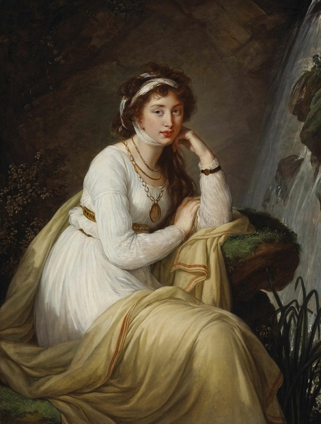 "Élisabeth Louise Vigée Le Brun ""Countess Tolstoya"", 1796"