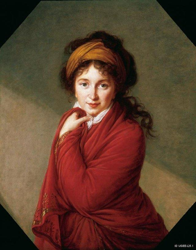 "Élisabeth Louise Vigée Le Brun ""Countess Varvara Nikolayevna Golovina"", c. 1797–1800"