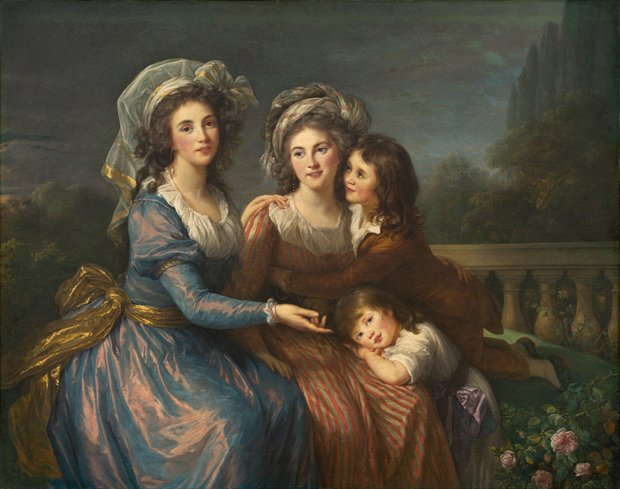 "Élisabeth Louise Vigée Le Brun ""The Marquise de Pezay and the Marquise de Rougé with Her Two Sons"", 1787"
